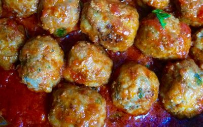 Today I made my mum's meatballs
